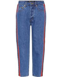 P.E Nation - Season Lifetime Cropped Jeans - Lyst