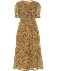 Rejina Pyo Kristen Cotton Voile Midi Dress - Natural
