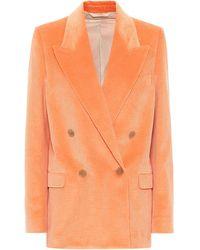 Acne Studios Corduroy Blazer - Orange