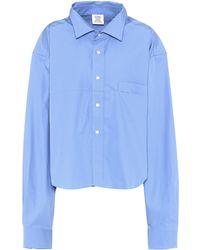 Vetements - Cotton Shirt - Lyst