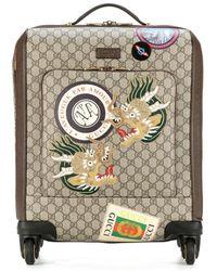 Gucci Trolley Courrier in tessuto GG Supreme - Multicolore