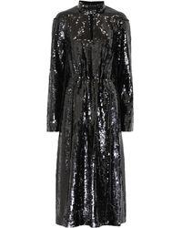 Tibi - Avril Sequined Midi Dress - Lyst