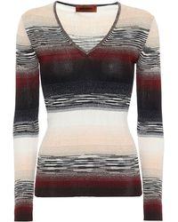 Missoni Pullover aus Lamé-Strick - Mehrfarbig