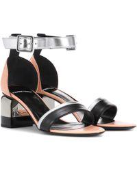Pierre Hardy - Sweet Memphis Leather Sandals - Lyst