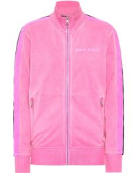 Palm Angels Technical Jersey Track Jacket - Pink