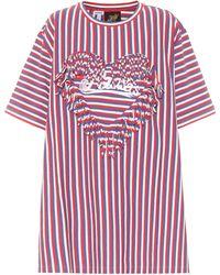 Loewe Paula's Ibiza Striped Cotton T-shirt - Multicolour