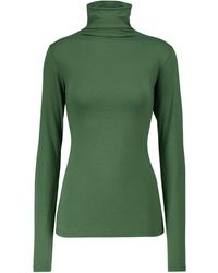 Velvet Jersey Talisia de algodón elástico - Verde