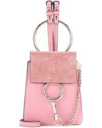 Chloé - Faye Small Leather Bracelet Bag - Lyst