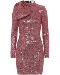 Rebecca Vallance Mona Sequined Minidress - Pink
