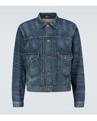 RRL Veste en jean - Bleu