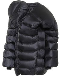 Rick Owens - X Moncler abrigo Hikoville de plumas - Lyst