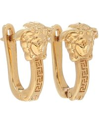 Versace Medusa Earrings - Metallic