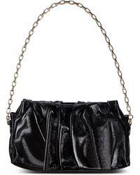 Elleme Vague Patent Leather Shoulder Bag - Black