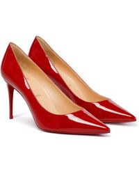 Christian Louboutin - Kate 85 Patent Leather Pumps - Lyst