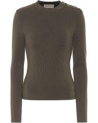 Alexandre Vauthier Merino-wool Sweater - Green