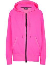 Tom Ford Trainingsjacke mit Seidenanteil - Pink