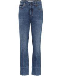 Valentino Jeans regular VLOGO a vita alta - Blu