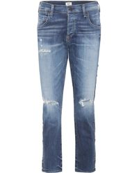 Citizens of Humanity - Emerson Cropped Jeans - Lyst