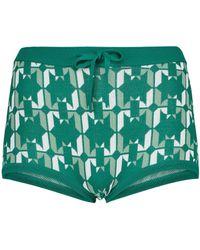 Dodo Bar Or Shorts aus Jacquard-Strick - Grün