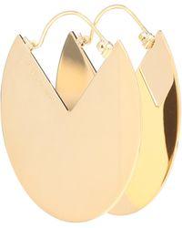 Isabel Marant 90° Drop Earrings - Metallic