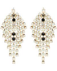 Isabel Marant D Aless Crystal-embellished Earrings - Metallic