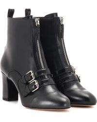 Tabitha Simmons Ankle Boots Axel aus Leder - Schwarz