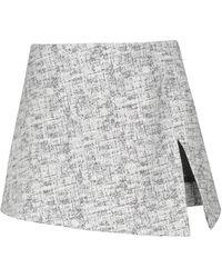 Coperni Tweed Miniskirt - Black