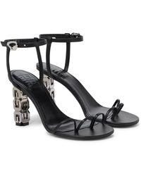 Givenchy Sandales en cuir - Noir