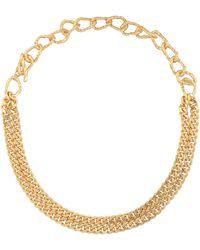 Elhanati Vergoldete Halskette Fatima - Mettallic