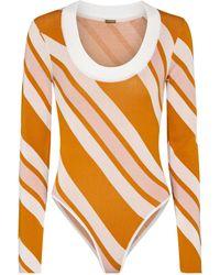 Dodo Bar Or Body a rayas - Naranja