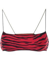 Tropic of C Exclusivo en Mytheresa - braga de bikini Curve estampada - Rojo