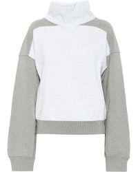 RTA Robin Cotton Jersey Sweatshirt - Grey