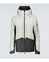 Sease Rima Wool And Nylon Jacket - White
