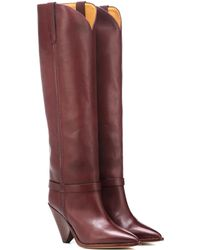 572ece41634 Isabel Marant - Exclusive To Mytheresa – Lenskee Leather Boots - Lyst