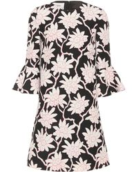 Valentino - Wool And Silk Dress - Lyst