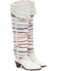 Isabel Marant - Luiz Suede Knee-high Boots - Lyst