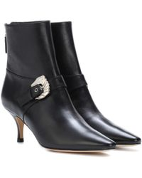 Dorateymur - Saloon Leather Ankle Boots - Lyst