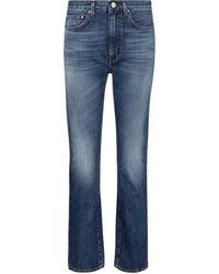 Totême High-rise Straight Jeans - Blue