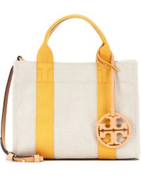 Tory Burch - Miller Mini Canvas Tote - Lyst