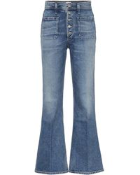 Citizens of Humanity Maisie High-rise Flared Jeans - Blue