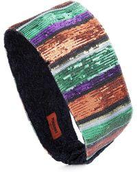 Missoni - Sequined Striped Headband - Lyst