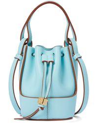 Loewe Paula's Ibiza Bucket-Bag Balloon Nano - Blau