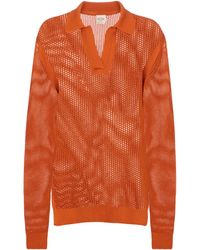 Tod's Pullover aus Baumwolle - Orange