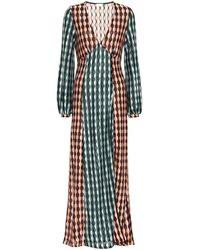RIXO London Phoebe Midi Dress - Multicolour