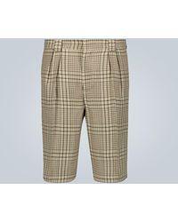 Jacquemus Jacquard-Shorts Le Short de Costume - Grün
