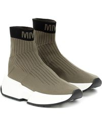 MM6 by Maison Martin Margiela - High-top Sock Sneakers - Lyst