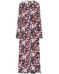 Marni Vestito con stampa camouflage - Rosa