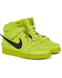 Nike X AMBUSH Sneakers Dunk aus Leder - Grün