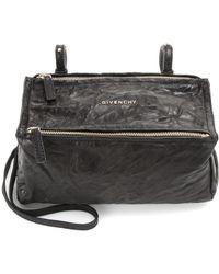 Givenchy Bolso al hombro Pandora Mini de piel - Negro