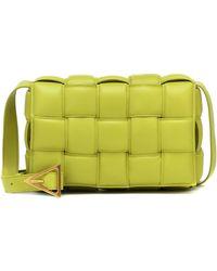 Bottega Veneta Leather Padded Cassette Cross-body Bag - Multicolour